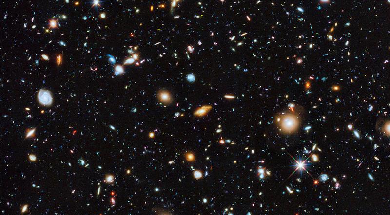 Sterne und Galaxien