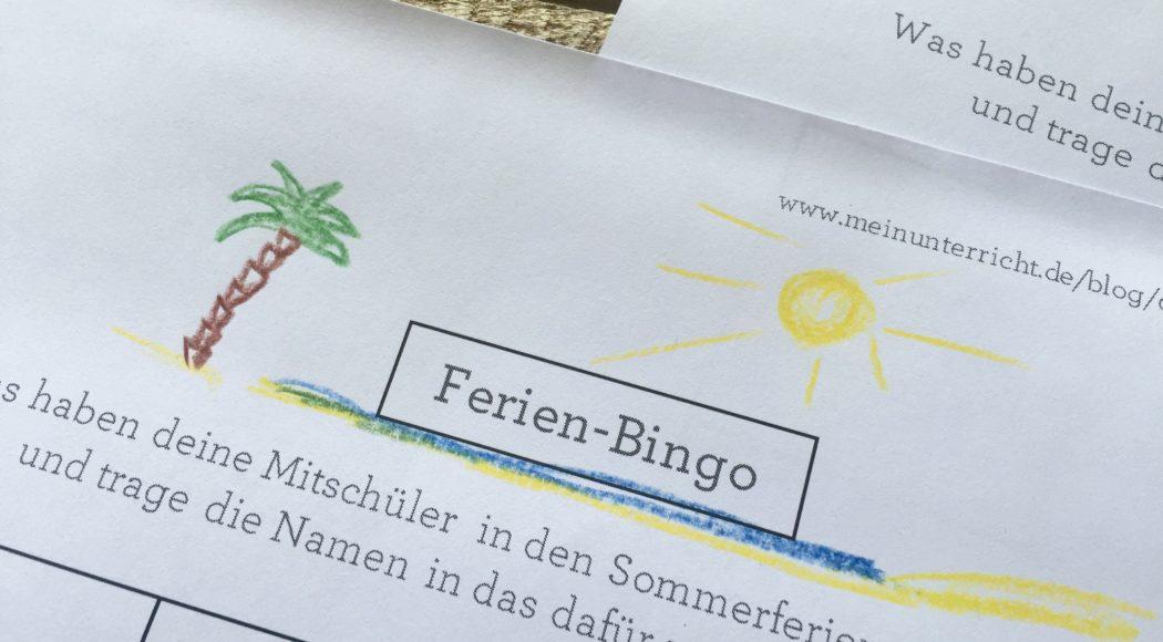 bingo spielregeln grundschule