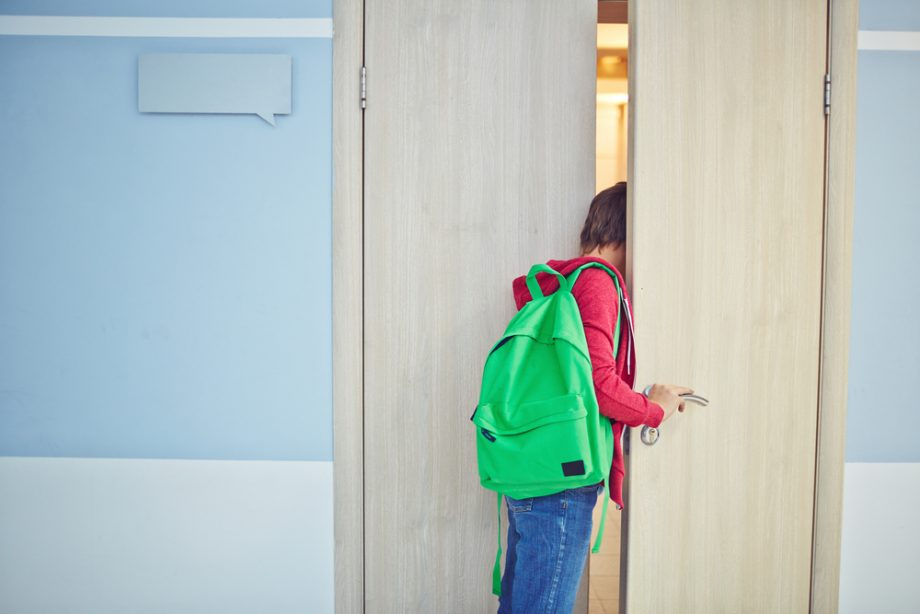 Rituale in der Schule (3): Das Klassenzimmer betreten
