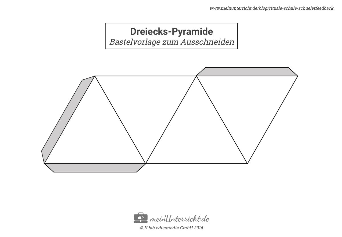schülerfeedback dreieck-pyramide