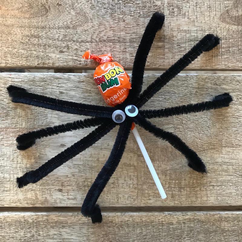 Halloween Lollie-Spinne