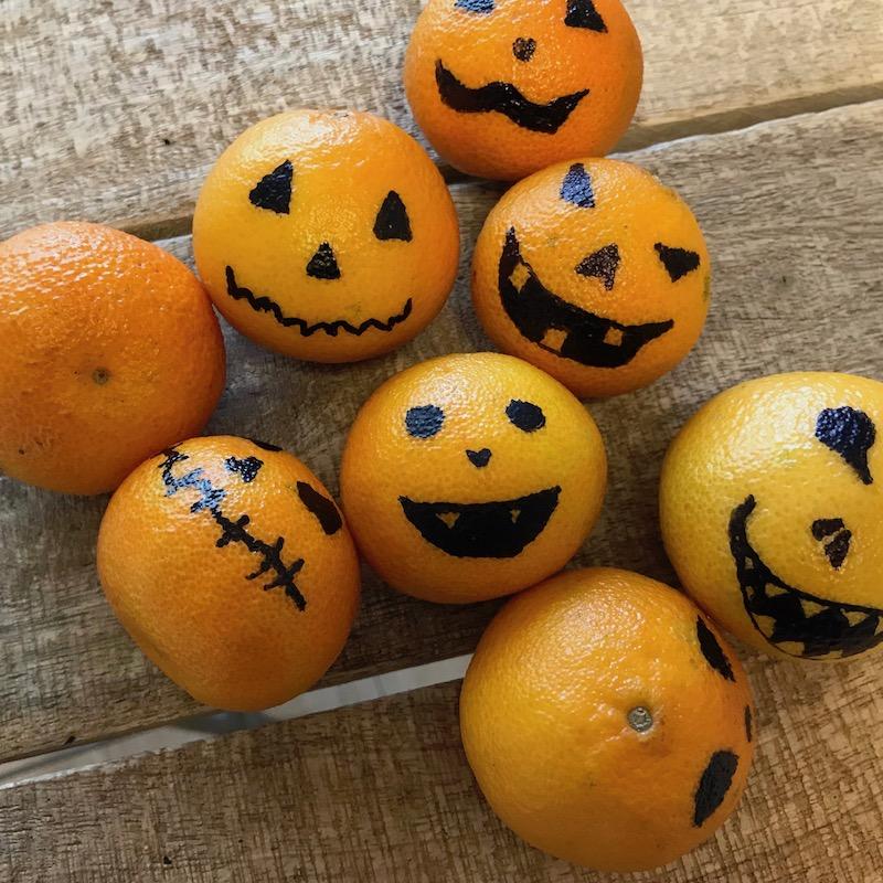 Halloween-Mandarinen