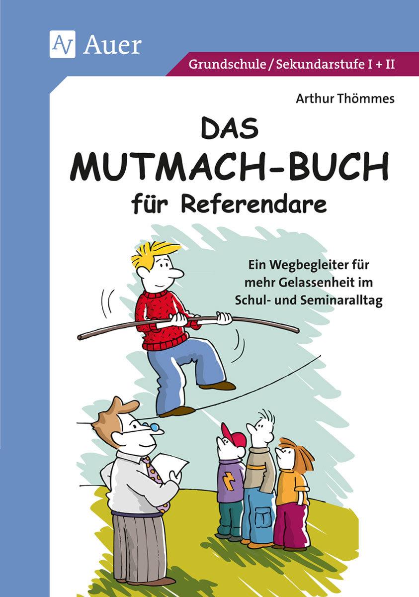 Wir haben uns mit Athur Thömmes, dem Autor des Mutmach-Buchs für Referendare über Jammerpädagogik und die berühmt berüchtigten Showstunden unterhalten.