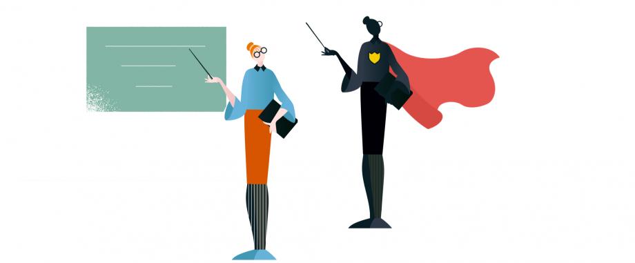 Lehrkräfte als Vorbilder