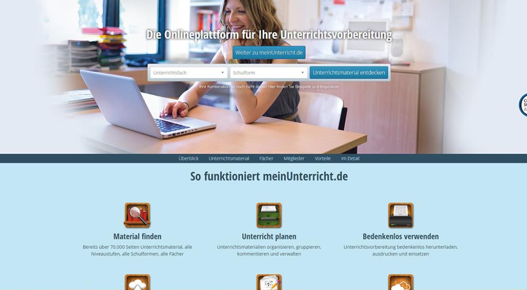 Relaunch meinUnterricht.de