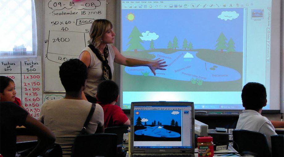 Raus aus der Kreidezeit: Das interaktive Whiteboard in der Unterrichtspraxis