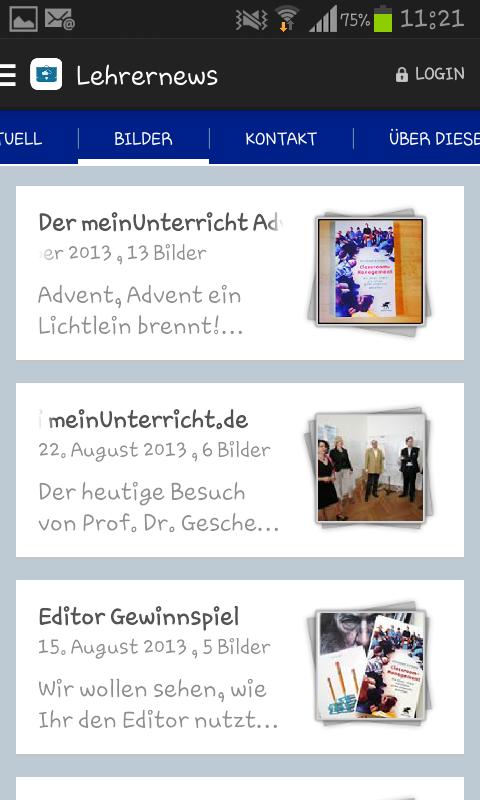 Lehrernews-App