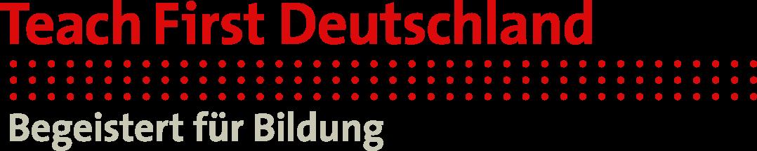 Logo Teach First Deutschland, Begeistert für Bildung