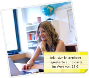 """Bild für die Sonderkation """"Starthilfe"""" von meinUnterricht.de zur didacta 2014"""